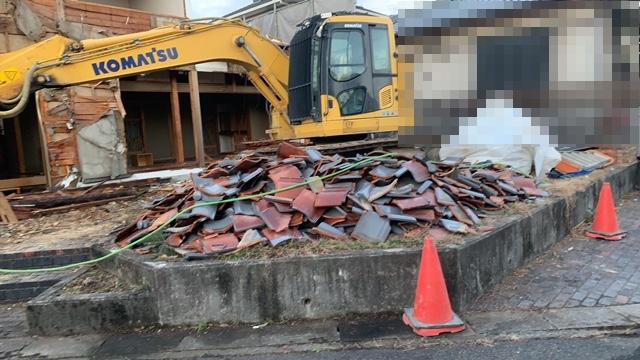 土岐市泉が丘で解体工事3