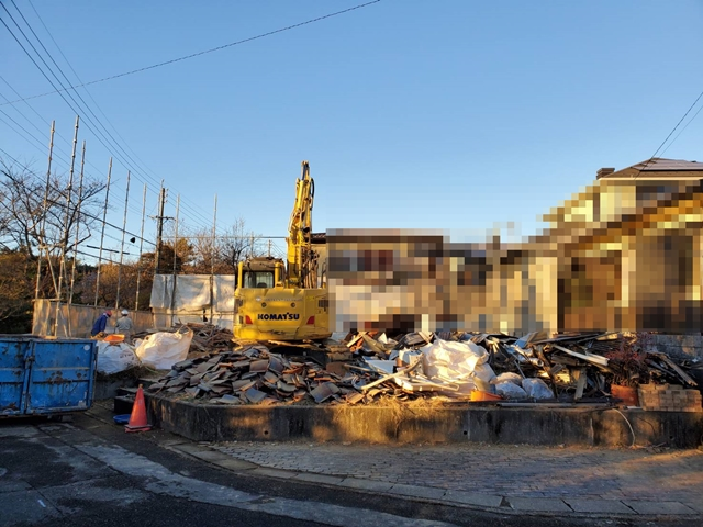 土岐市泉が丘で解体工事5