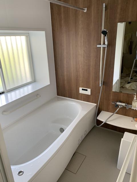 浴室施工後の写真