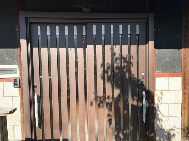 開放的なリビング&重厚感のある玄関